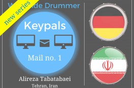 Worldwide Drummer Keypals, mail no. 1
