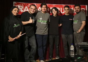 Sahar Shateri, Alireza Tabatabei and students of Arian Drum School