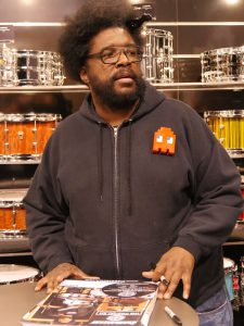 Questlove Autographs © Cat with Hats