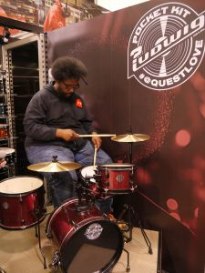 Questlove Soundcheck © Cat with Hats