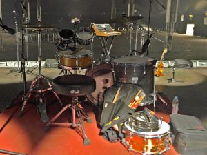 drum kit Nick Petree © Cat with Hats