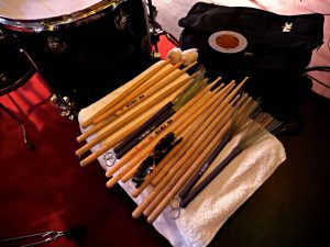 Vic Firth endorsee Brad Webbs sticks © Cat with Hats